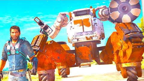 Just cause 3 how to get a mech