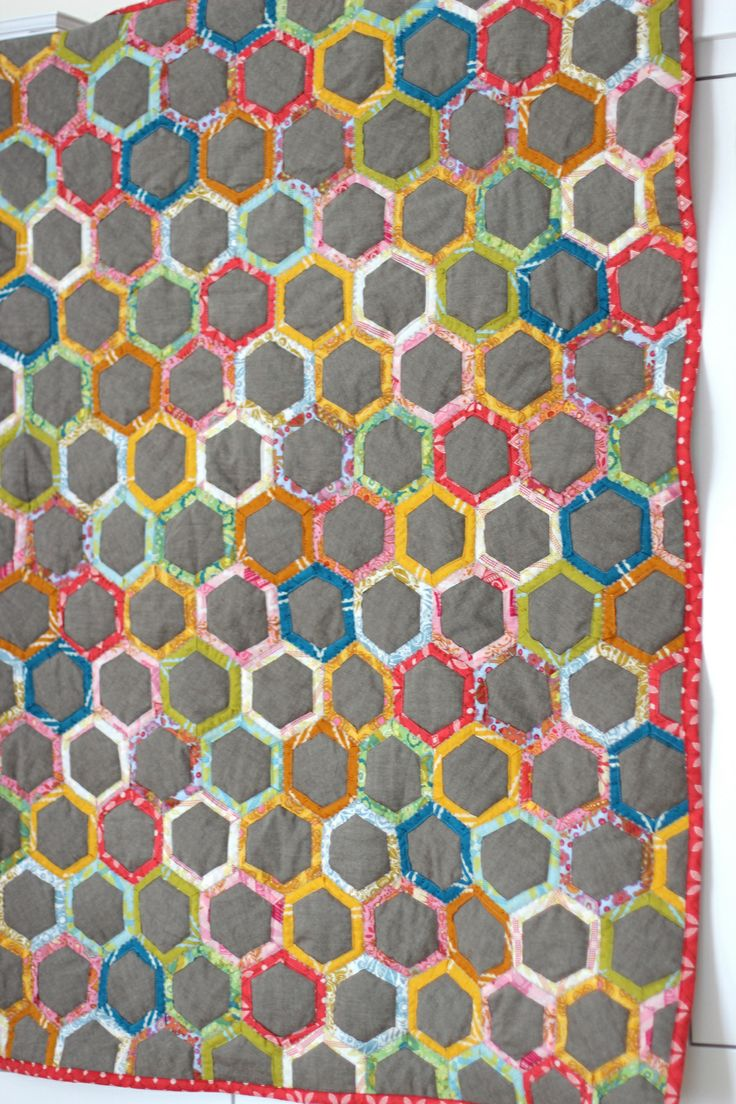 quilt as you go hexagons instructions