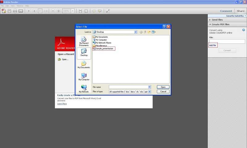 Combine two pdf files into one adobe reader