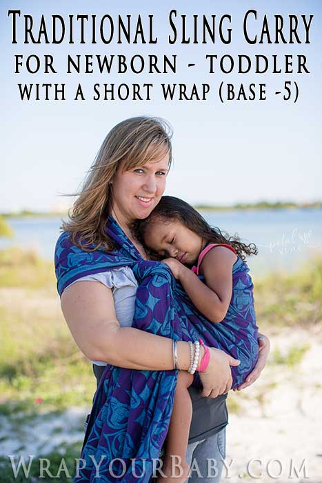 seven sling front carry instructions