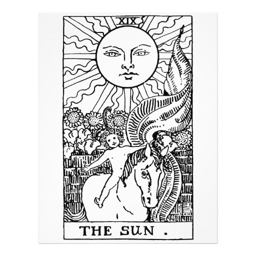 Color your own tarot cards free pdf