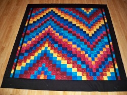 Bargello quilt instructions youtube