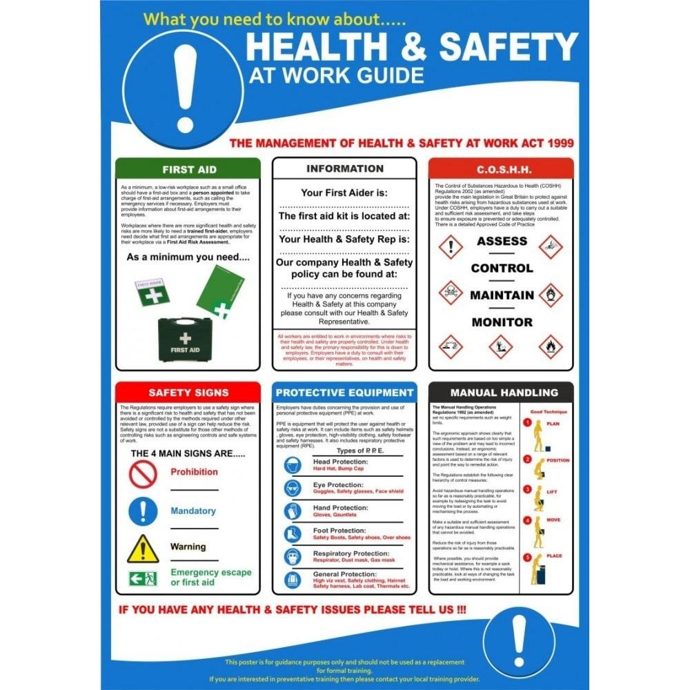 General safety guidelines for computers