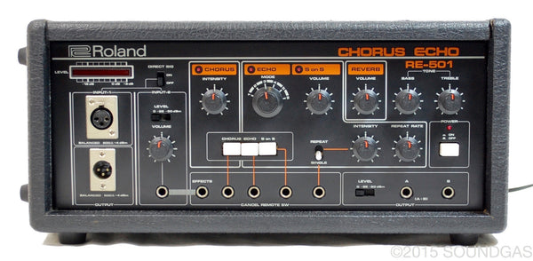 roland re-201 chorus echo instruction sheet
