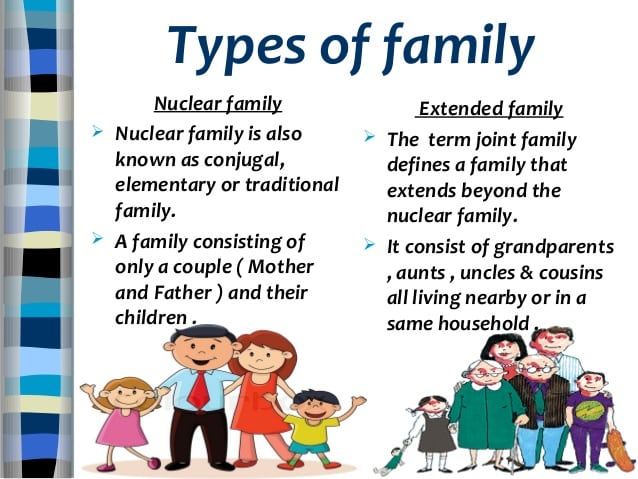 Different types of families pdf