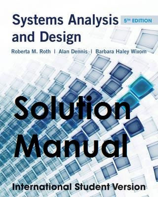 Systems analysis and design 6th edition alan dennis pdf